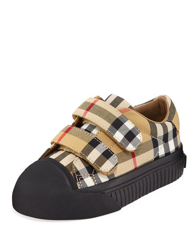 Belside Vintage Check Sneakers, Toddler