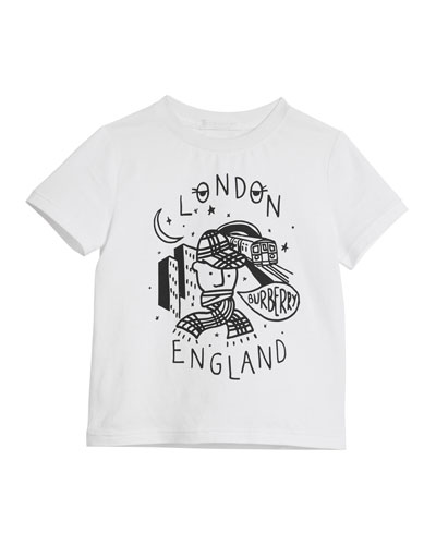 London Boy Graphic Short-Sleeve T-Shirt, Size 4-14