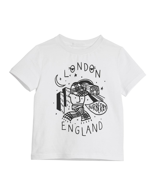 5f7813d816a Burberry London Boy Graphic Short-Sleeve T-Shirt