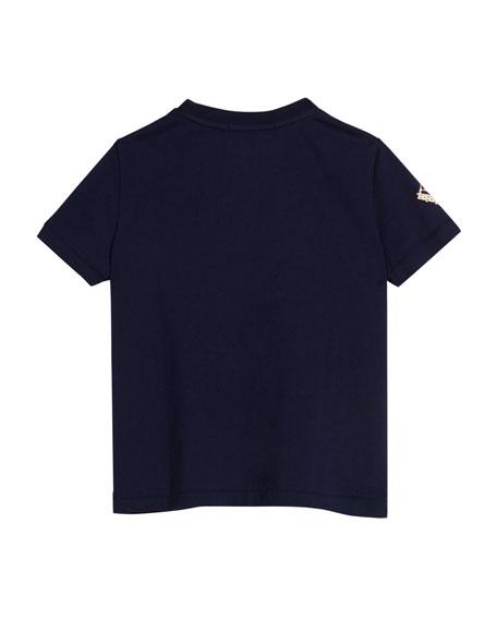 Sticker Graphic Short-Sleeve T-Shirt, Size 4-10