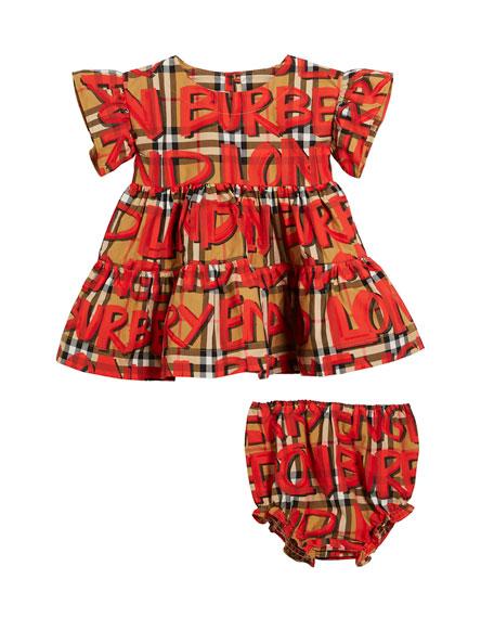 Amy 3-Piece Layette Gift Set - Dress, Bloomers & Bodysuit