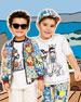 Maiolica Mix Bermuda Shorts, Kid Boys