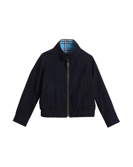 Burberry Harrington Reversible Jacket, Size 4-14
