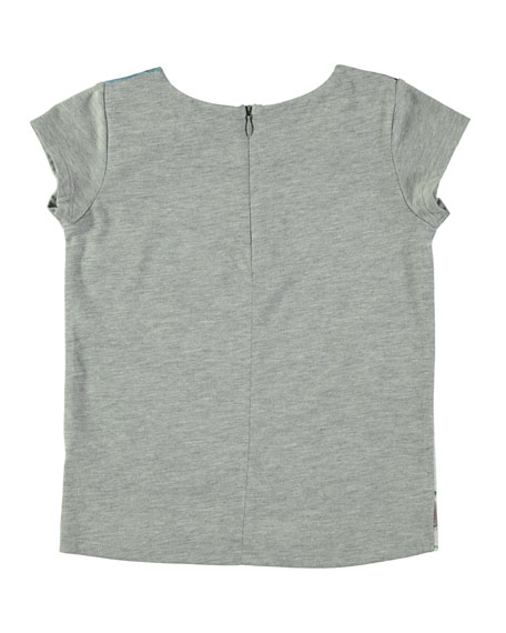 Rubertha Short-Sleeve Fox T-Shirt, Size 3-10