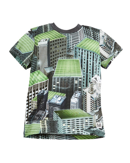 Raymont Rooftop Fields T-Shirt, Size 4-12