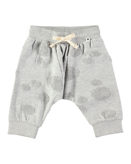 Sona Sweatpants w/ Dot Detail, Size 6-24 Months