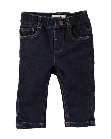 Sven Dark-Wash Denim Jeans, Size 6-24 Months