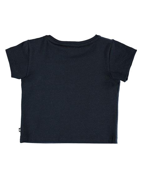 Eddie Short-Sleeve Soccer Globe T-Shirt, Size 6-24 Months