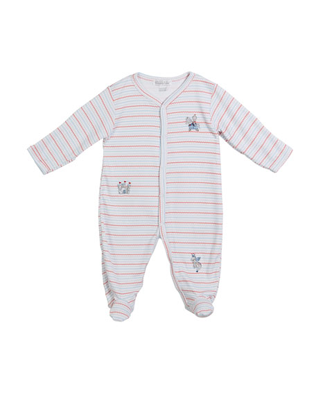 King of the Castle Footie Playsuit, Size Newborn-9M