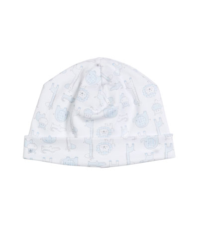 Jungle Out There Pima Baby Hat