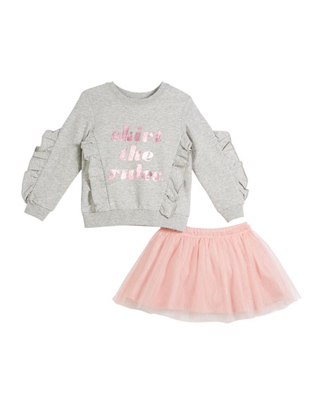 kate spade new york skirt the rules sweatshirt