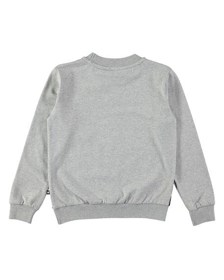 Regine Long-Sleeve Squirrel-Print Sweatshirt Tee, Size 2-10
