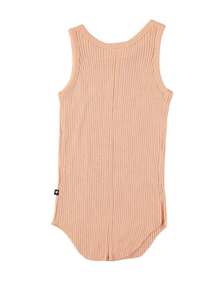 Roberta Rib-Knit Tank Top, Size 3-12