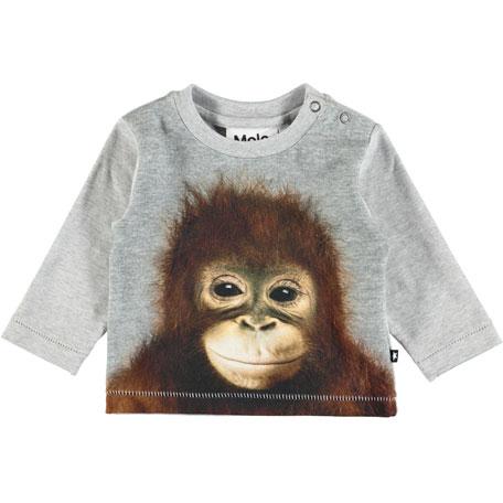 Molo Enovan Car Smoke Long-Sleeve T-Shirt, Size 6-24