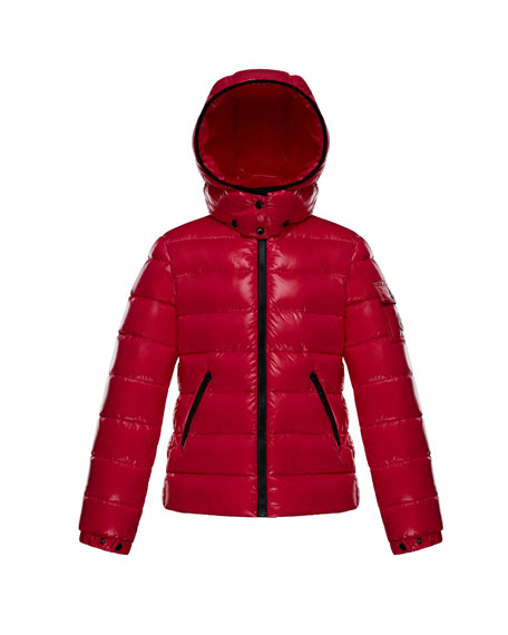 Bady Fitted Puffer Jacket, Fuchsia, Size 4-6