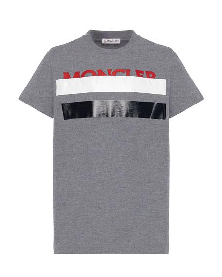Colorblock T-Shirt w/ Hidden Logo Text, Size 8-14