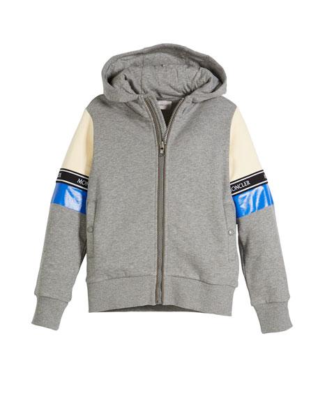 Completo Colorblock Jacket & Joggers Set, Light Gray, Size 4-6