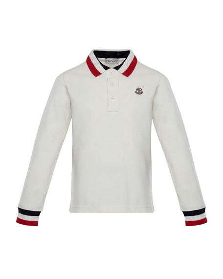 Maglia Long-Sleeve Polo Shirt, Size 4-6
