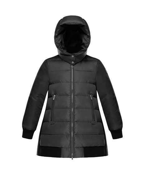 moncler black bubble jacket