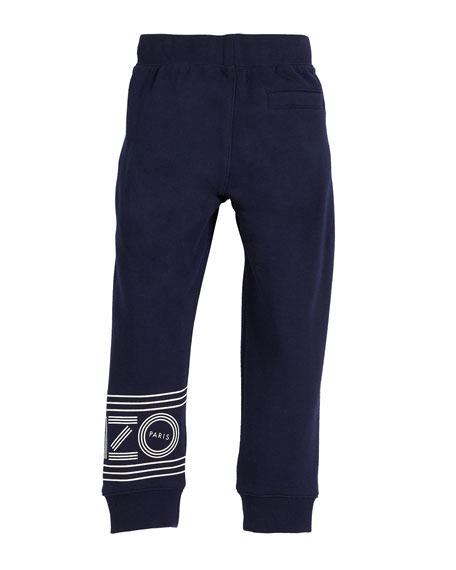 Fleece Logo Jogger Pants, Size 14-16
