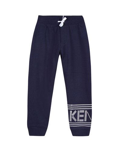 Fleece Logo Jogger Pants, Size 2-6