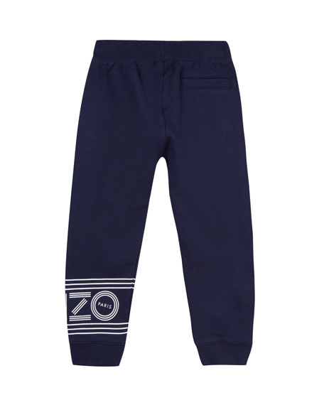 Fleece Logo Jogger Pants, Size 8-12