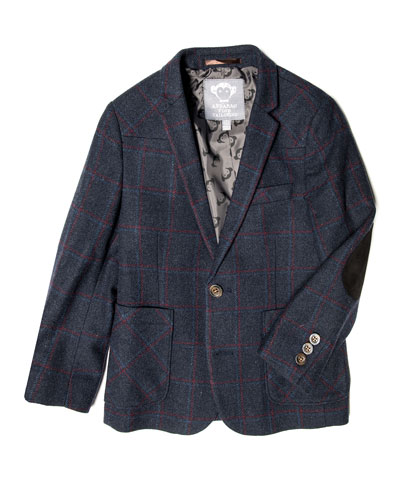 Professor Windowpane Blazer, Size 2-14