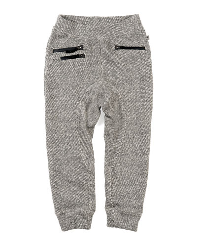 Parket Sweatpants w/ Zip Pockets, Size 2-10