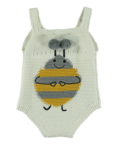 Knit Bee Sleeveless Bodysuit, Size 3-12 Months