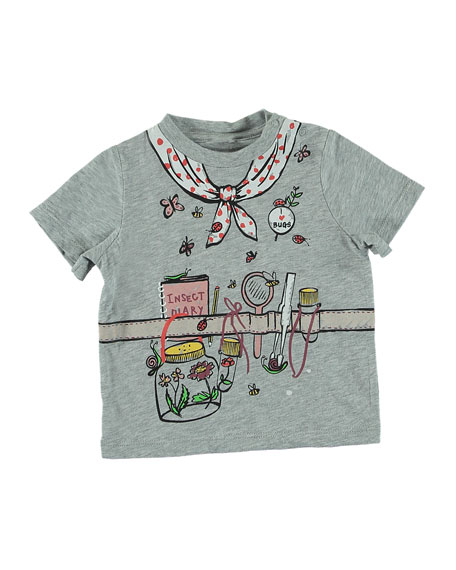 Stella McCartney Kids Explorer Outfit Trompe l'Oeil Short-Sleeve