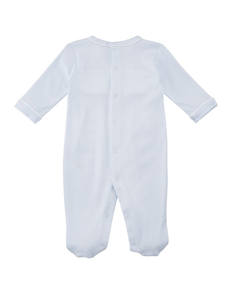 Premier Train Pima Footie Playsuit, Size Newborn-9M