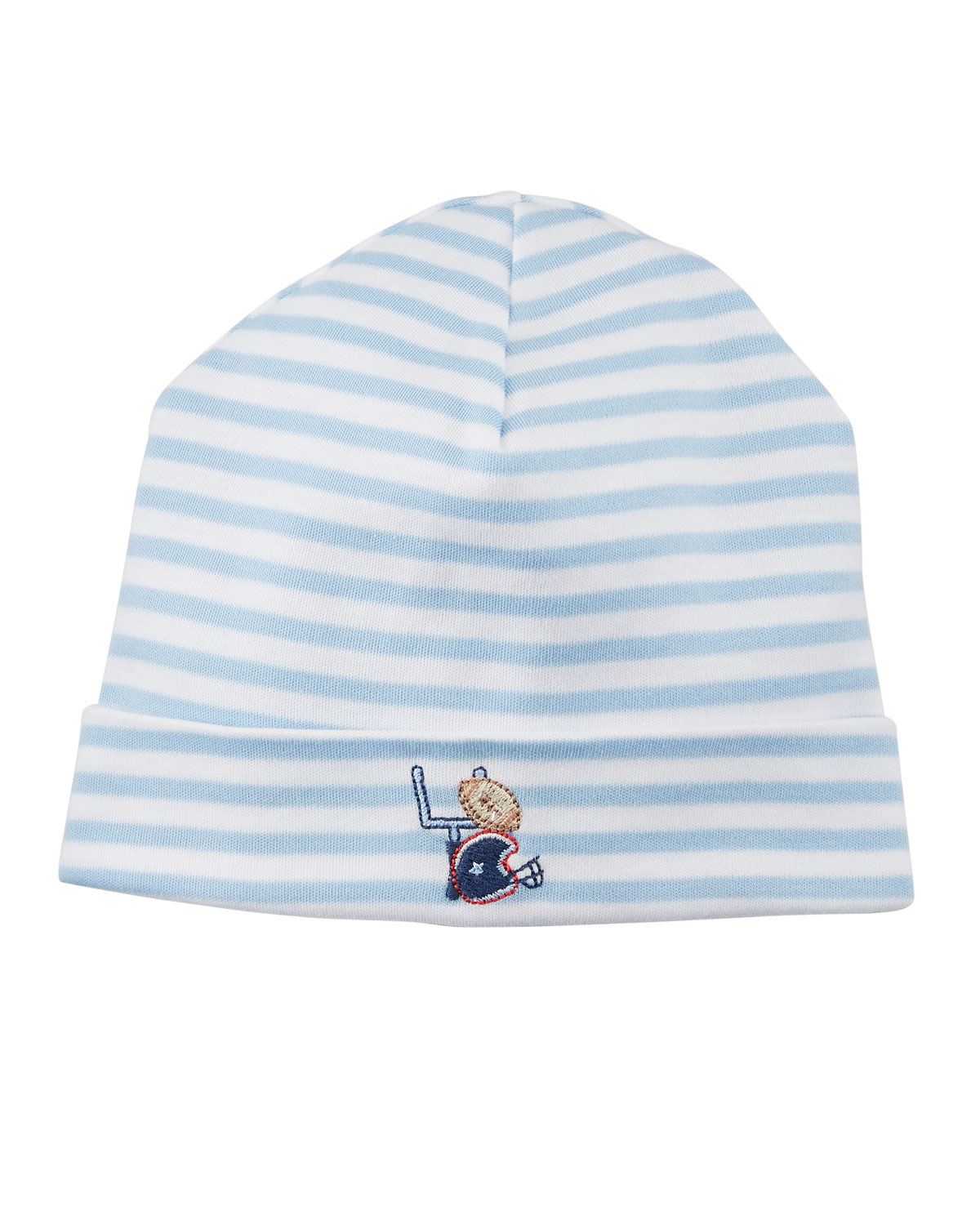 Kissy Kissy Fall Sports Striped Baby Hat  b7947e9a568e