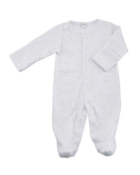 Sweet Dreams Printed Pima Footie Playsuit, Size Newborn-6M