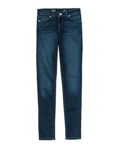 Twiggy Imperial Blue Jetsetter Straight-Leg Denim Jeans, Size 7-14