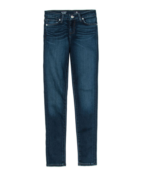 Twiggy Imperial Blue Jetsetter Straight-Leg Denim Jeans, Size 7-14