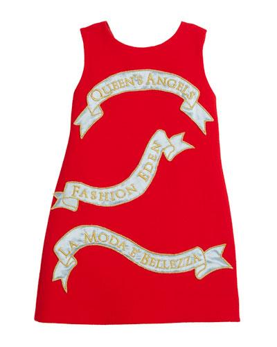 Queen's Angels Sleeveless Dress, Size 8-12