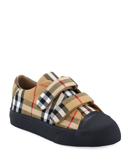 Belside Check Sneakers, Kids