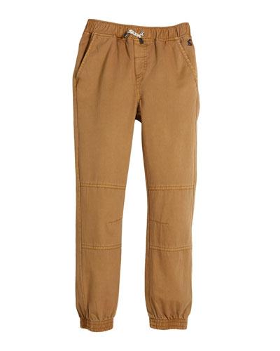 Cotton Jogger Pants, Size 2-6