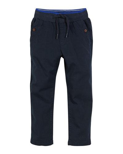 Woven Drawstring Pants, Size 3-7