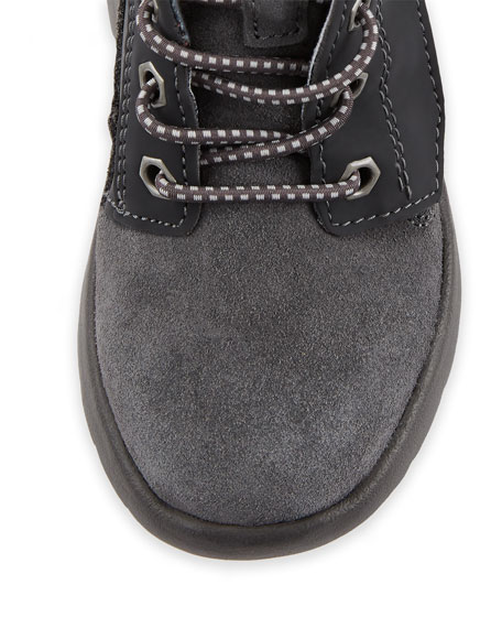 Boys' Suede Canoe Reflective Boots, Kids