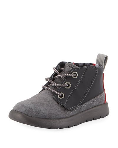 Boys' Suede Canoe Reflective Boots  Kids