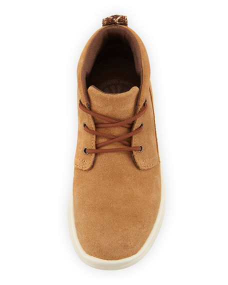 Girls' Suede Canoe Boots, Kids