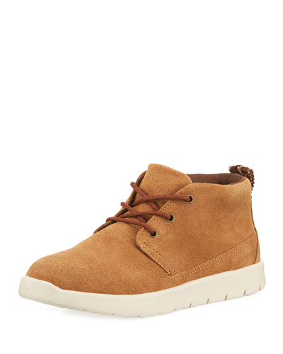 Girls' Suede Canoe Boots  Kids