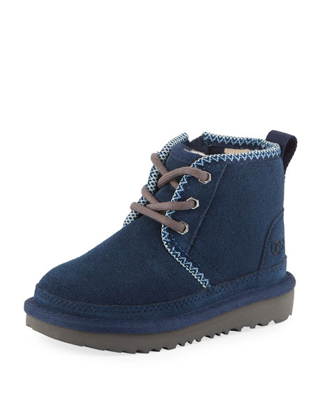 UGG Australia Neumel II Suede Lace-Up Boots, Toddler