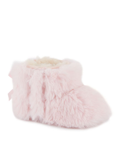 Jesse Bow II Fluff Boots, Baby