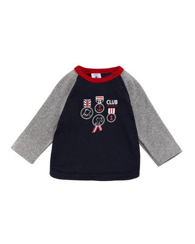 Raglan Graphic T-Shirt, Size 3-36 Months