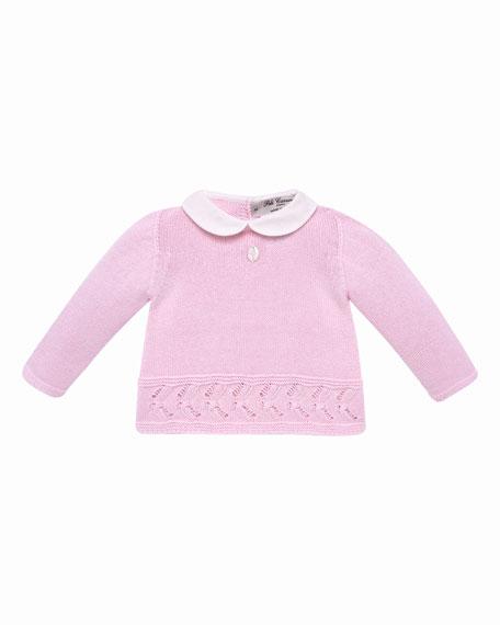 Pili Carrera Collar Knit Sweater w/ Matching Footed