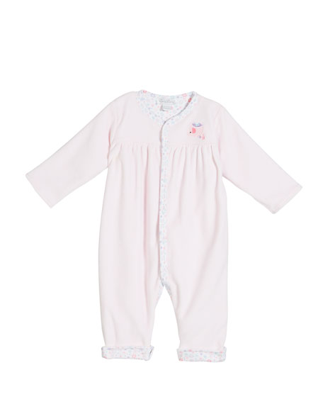 Kissy Kissy Eloquent Elephants Reversible Coverall, Size 3-18