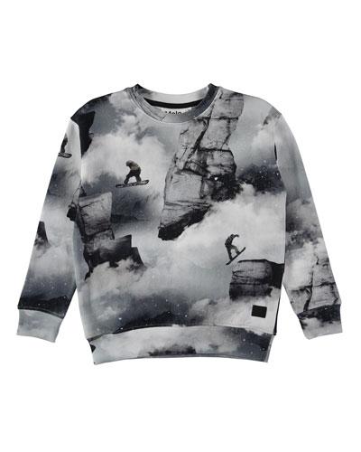 Morell Snowboarder Sweatshirt, Size 4-12