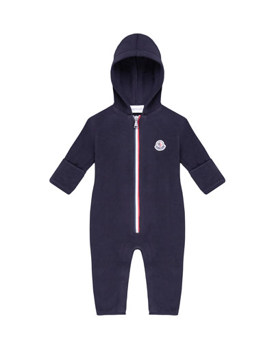Hooded Zip-Front Coverall, Size 12M-3